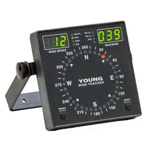 200-06201 Wind Tracker Display & 200-06206 Marine Wind